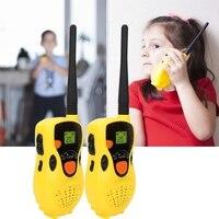 2019 детский домофон электронная рация телефон игрушка ребенок мини портативный гаджет портативный двухсторонний радио домофон беспроводно...