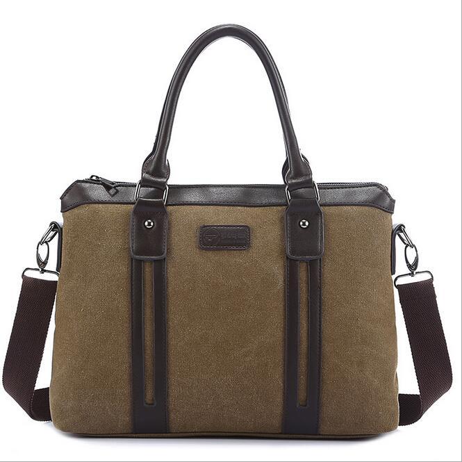 070117 Mens Fashion Simple Document Briefcase Bag