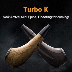 Image 2 - מקורי Kamry טורבו K מיני E צינור ערכת 35W גדול החמקן 1000mAh עץ צינור דואר Mod E סיגריות טורבו K epipe VS K1000 בתוספת