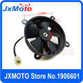 Free shipping ATV fan dirt bike motorcycle fan zongshen loncin lifan foton oil cooler radiator cooling fan pit bike accessories