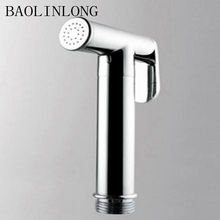 BAOLINLONG Style Brass Double Mode Toliet Bidet Hand Held Portable Bidet Sprayer Shattaf Toilet Shower head Spray Set цена 2017