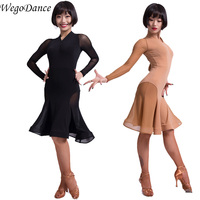 new Latin dance dress professional competition latin competition dress for women freeshipping