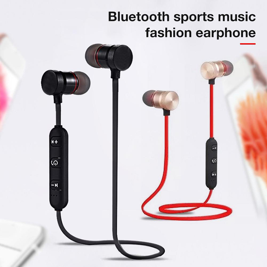 Magnetic music bluetooth earphone Y10 sport running wireless bluetooth headset with Mic For iPhone 8 X 7 Xiaomi 0010