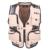Multi-bolsos dos homens Colete de Verão Ocasional fotografia Repórter Regular Malha Vest Além Disso tamanho Grande XL-5XL Homens Colete Com Muitos bolsos