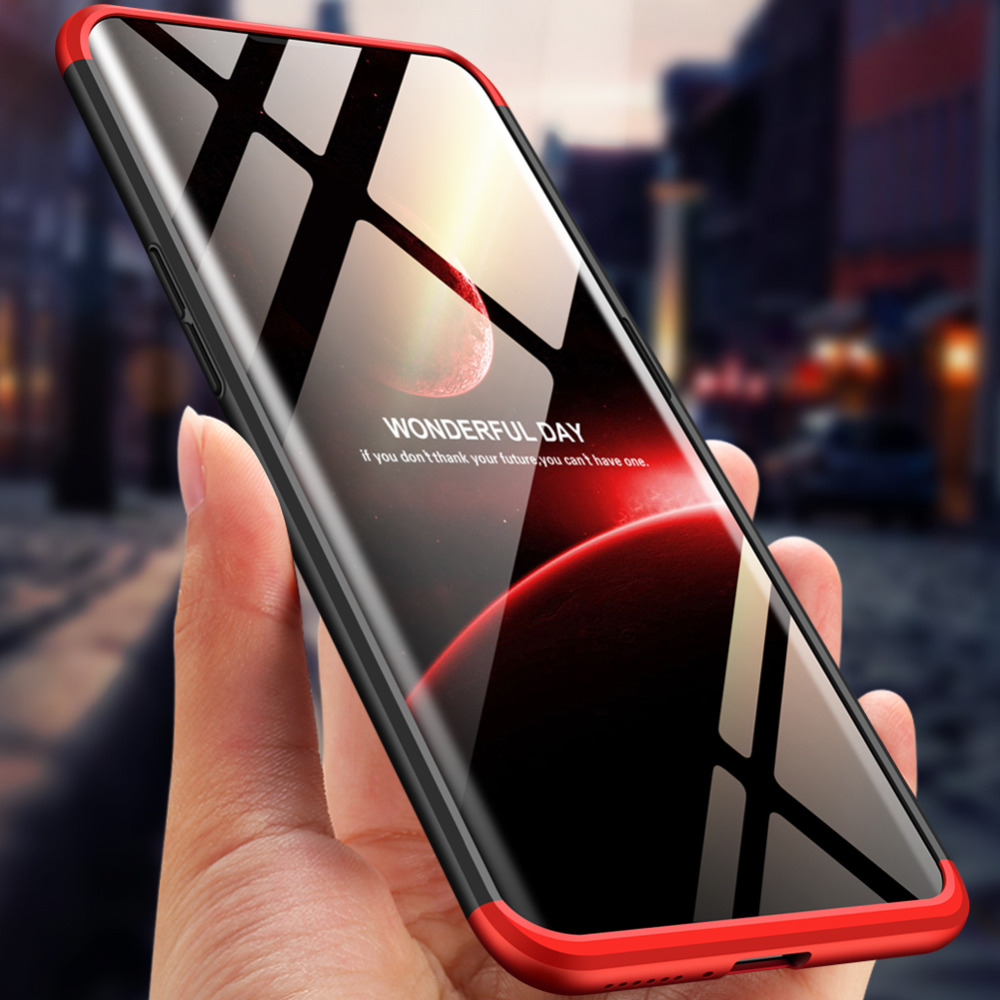 For OPPO Find X Case 360 Degree Protected Full Body Phone Case for OPPO Find X Case Shockproof Cover+Glass Film for OPPO FindX