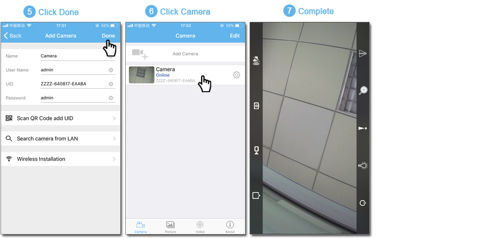 GADINAN 1080P HD Wireless Outdoor Bullet IP Waterproof WIFI Camera Support  Androis IOS Security CCTV Camera TF Card Slot CamHi