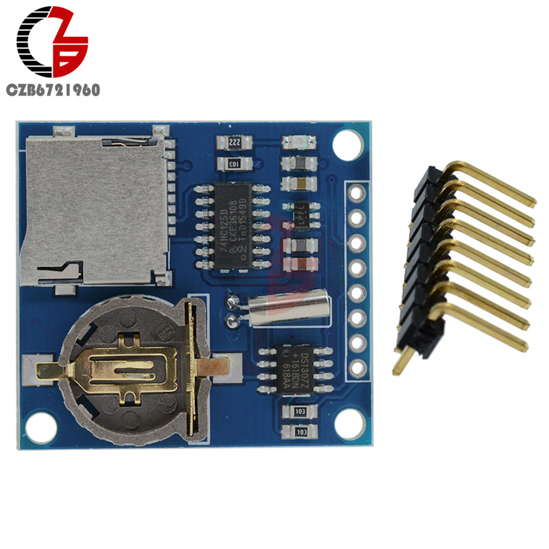 MINI DS1307 V1.0 Real Time Clock Logging Recorder Data Logger Shield Module Micro SD Card Slot for Arduino Raspberry Pi synthesis of six and five membered heterocyclic compounds including oxygen and nitrogen