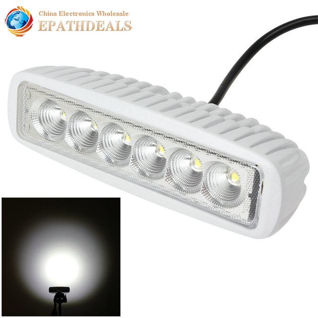 6 inch 12v24v 1550lm 18w offroad car work light waterproof led 6 inch 12v24v 1550lm 18w offroad car work light waterproof led flood spot aloadofball