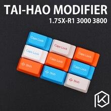 Taihao abs doubleshot keycaps modificadores 1.75u shift 3800 3850 3000 3494 1865 1869 1800 mx2.0 capslock color de r1 r2