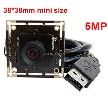 Wholesale 38*38mm 5.0MP High Resolution 2592×1944 1/2.5 Aptina MI5100 CMOS Microscope Endoscope usb digital camera board
