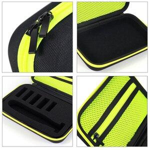 Image 5 - Etui Portable pour Philips OneBlade tondeuse rasoir et accessoires EVA sac de voyage Pack de rangement boîte couverture fermeture éclair pochette avec doublure