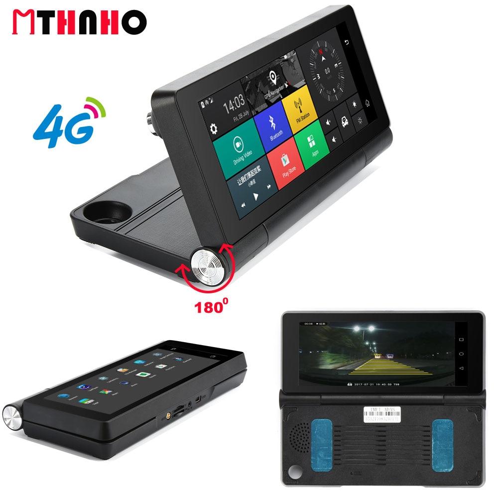 4G Wifi Car DVR Camera Android 51 GPS Navigation ADAS