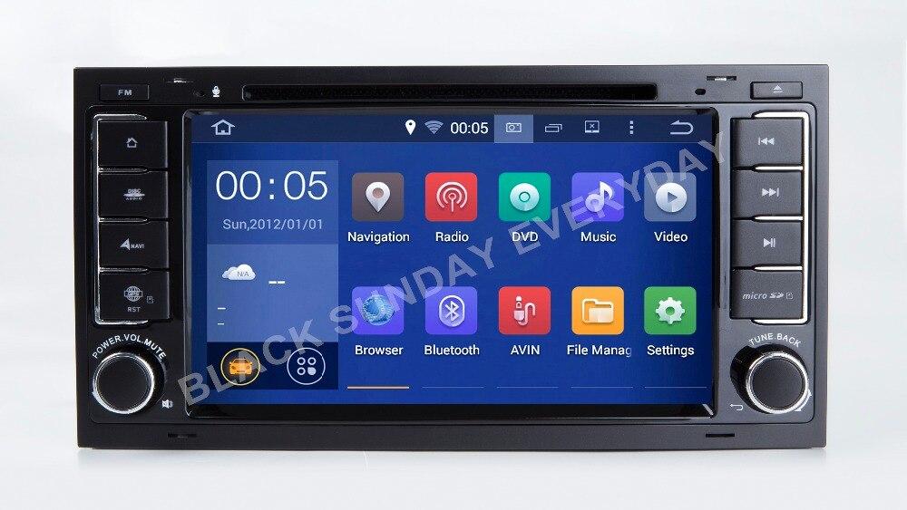 Android 9.0 16G ROM QUAD Core 2Din voiture GPS pour VW/Volkswagen Touar démarrage rapide voiture DVD lecteur multimédia Autoradio HD capacitif