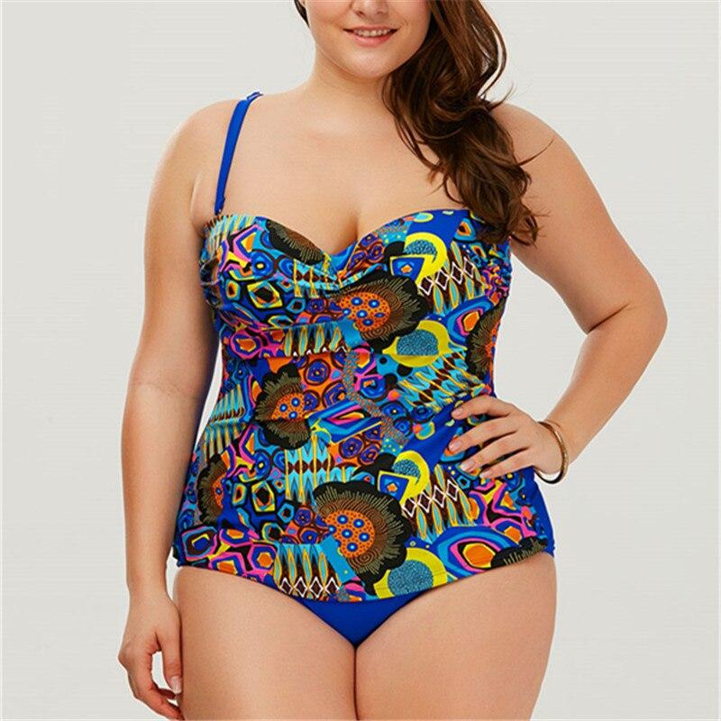 One Piece Plus Size Maio Beach Women Swimsuit Sexy Floral XL-5XL Bikini 2017 Fashion Women May Beachwear Surfing Bathing Suit one piece swimsuit cheap sexy bathing suits may beach girls plus size swimwear 2017 new korean shiny lace halter badpakken
