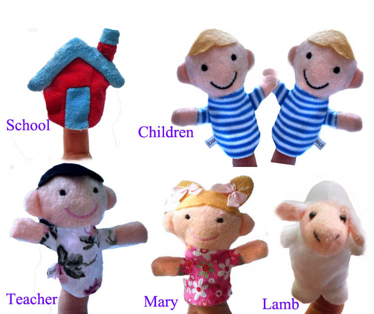 Awesome Pcsset Nursery Rhyme Finger Puppets Mary Had A Little Lamb Plush Educational Toys Win From U Hobbies On With Has