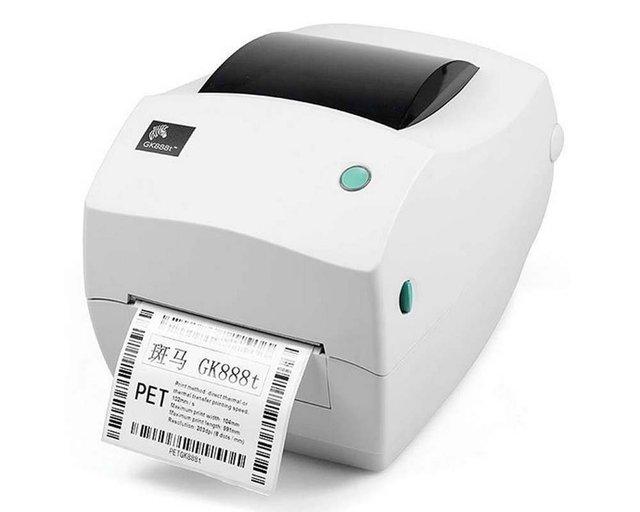 Zebra Gk888t Desktop Direct Thermal Thermal Transfer Label