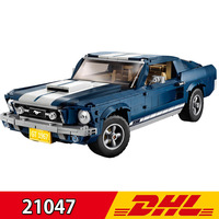 Legoing Lepining 21047 1648Pcs New Style technic Series Supercar Ford Mustang Car Building Blocks Bricks Toy