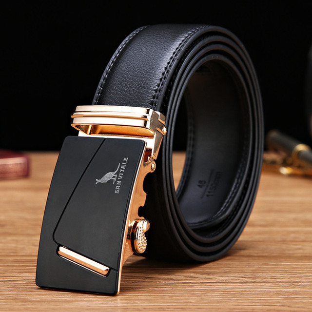 2016 men's fashion accessories new Luxury belts for male genuine leather designer men belt cowskin high quality free shipping