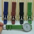 20/22/24mm preto marrom verde AZUL nato Cinta Para O Relógio de Aço Inoxidável Relógio de Pulso Banda de Silicone fivela