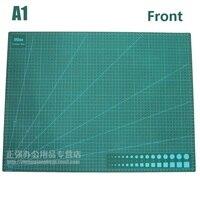 A1 grande esteira de corte dupla enfrentou placa de corte cartão 90cm x 60cm x 3mm