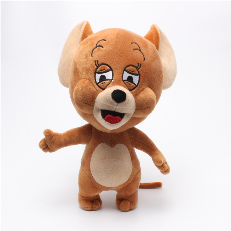 30cm 12inch Cartoon Tom Jerry Mouse Plush Toy Cute Hamster Animal Stuffed Plush Dolls for Kids Gift|Stuffed & Plush Animals| |  - title=