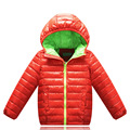 2016 New Solid Winter New Down Jacket for Girl,Boys Parka,Children's Thick Warm Down Jackets,kids Sports Hooded Outerwear