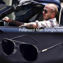 Óculos de Sol dos homens Marca Designer Pilot Polarized Masculino Óculos de Sol Óculos de sol gafas oculos de sol masculino Para O Homem Óculos de Motorista