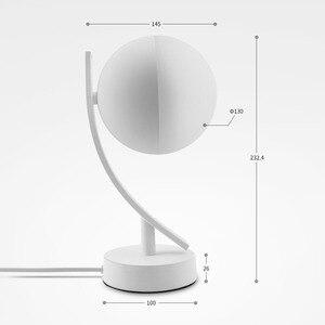 Image 4 - RGB LED مكتب مصابيح 7 واط الذكية صوت LED التحكم واي فاي App عن بعد عكس الضوء نوم الجدول أضواء الليل العمل مع أليكسا جوجل المنزل