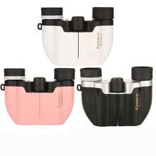 10x22 Mini Binocular Professional Telescope Opera Glasses for Travel Concert Outdoor Sports Hunting 3 Colors For Girl Women man цены онлайн