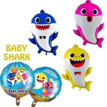 בלונים BABY SHARK ימי הולדת מסיבה במבצע לייף דיזיין
