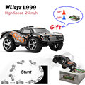 De alta Velocidad Del Coche de RC WLtoys L999 Drift 2.4G mini Coche 5 Nivel de Cambio de Velocidad Proporcional Completa Volante de Coches de Control Remoto toys