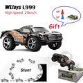 WLtoys Carro RC de alta Velocidade L999 Deriva 2.4G mini Carro 5 Nível de Mudança de Velocidade Proporcional Completa Carro de Controle Remoto de Direção toys