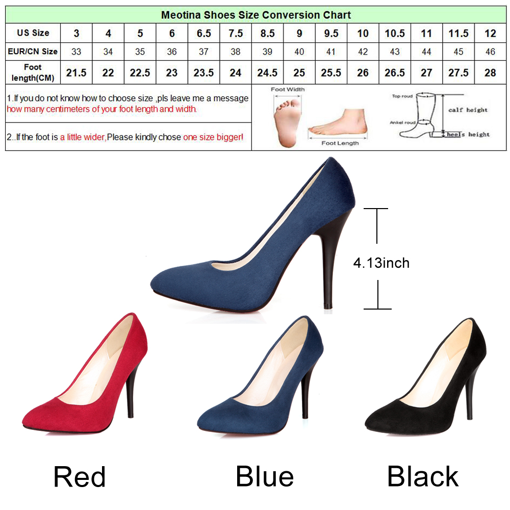 Meotina high heels shoes women pointed toe sexy high heels ladies meotina high heels shoes women pointed toe sexy high heels ladies shoes party pumps stiletto blue black large size 9 10 43 in womens pumps from shoes on geenschuldenfo Choice Image