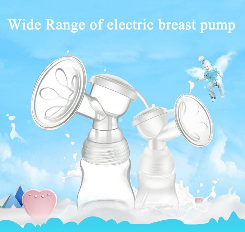 Electric-Breast-Pump-Milk-Automatic-Baby-Products-Milk-Sucking-Breastpump-Starter-Advanced-Pink-Postpartum-Breast-Feeding-Breast-Milk-T0101 (2)