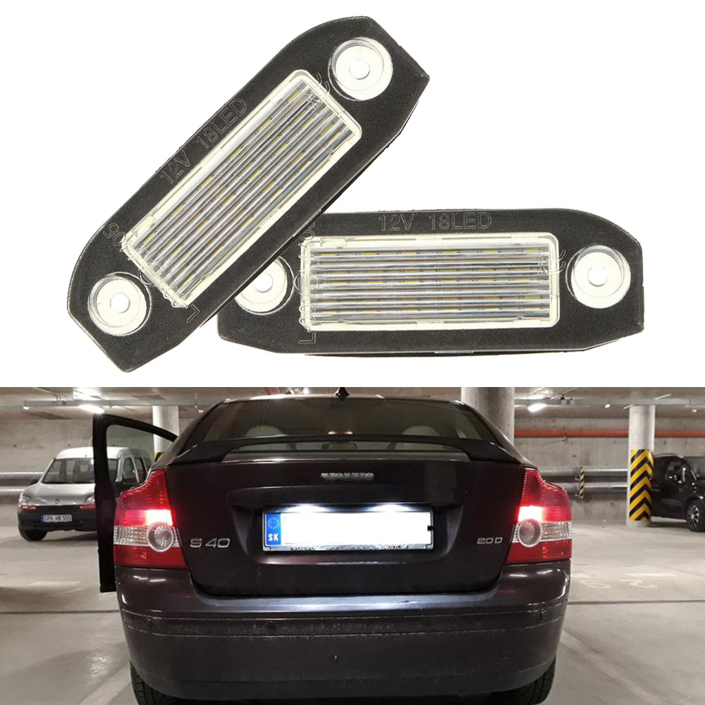 LED Kennzeichenbeleuchtung für Volvo S40 V50 S60 V70 S80 XC60 XC70 XC90