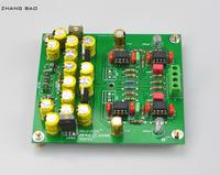 Assembeld MMCF10 Hifi LP fonógrafo MM amplificador/RIAA Phono Placa de preamplificador envío gratis