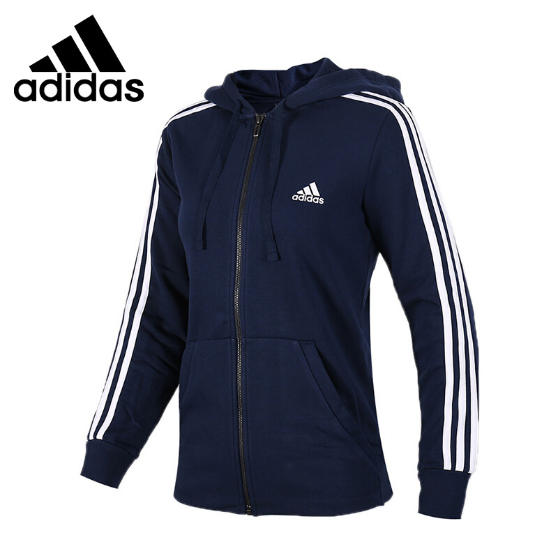 где купить  Original New Arrival 2017 Adidas Performance ESS 3S FZH SL Women's jacket Hooded Sportswear  по лучшей цене