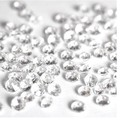 1000pcs 4.5mm Acrylic Clear Diamond Confetti Wedding Party Table Scatters Decoration AE01014
