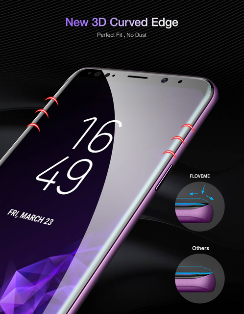 3D Full Cover Screen Protector for Samsung Galaxy
