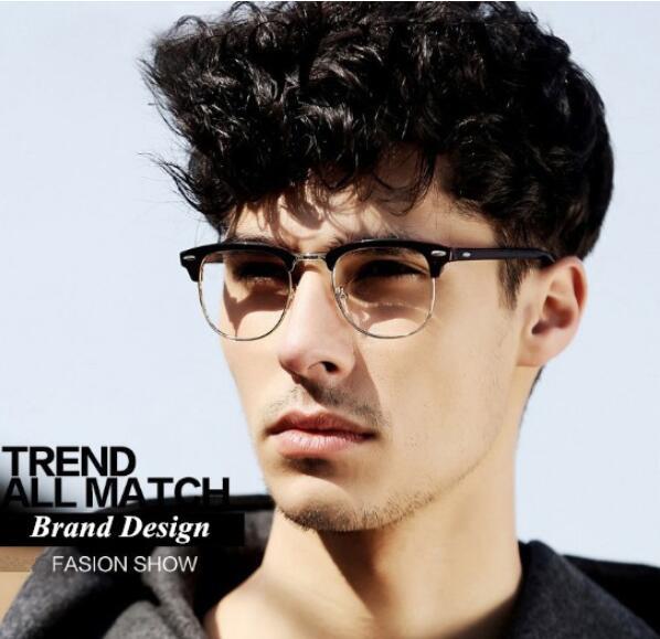 953a87cd86b0c Decorative UV Eyewear Frames Brand Design Eyeglasses eye glasses frames for  Men Male Women Sports Computer