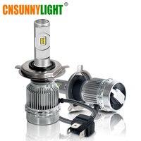 CNSUNNYLIHGT H4 H7 H11 H1 H3 9005 9006 Flip LED Car Headlight Bulbs Hi Lo Beam