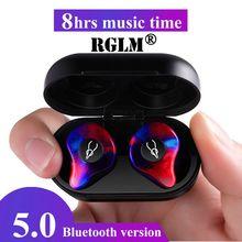 RGLM оригинальный Шабаш X12pro 3D стерео звук V5.0 Bluetooth наушники Невидимый True Водонепроницаемый Беспроводной наушники вкладыши спортивные наушники