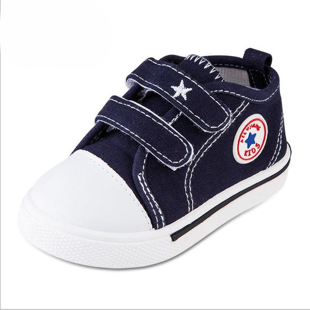 2017 NOVA Crianças do bebê do Menino & Menina Calçado Desportivo Tênis Sapatos Bebê Infantil Bebe bebê Macios Fundo Primeiros Caminhantes do bebê com idade entre 1-3