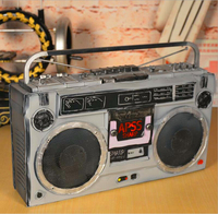 D антикварные украшения ретро украшения Радио ТВ шкаф оловянные украшения Креативные украшения для дома ремесла домашнего интерьера