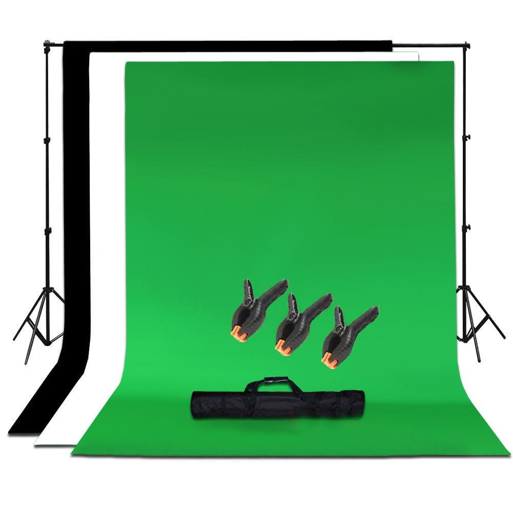 Hot Studio Photo Black White Green Chroma Key Background Backdrop Screen Stand Kit ситечко для заваривания чая contigo для кружек серии west loop page 2