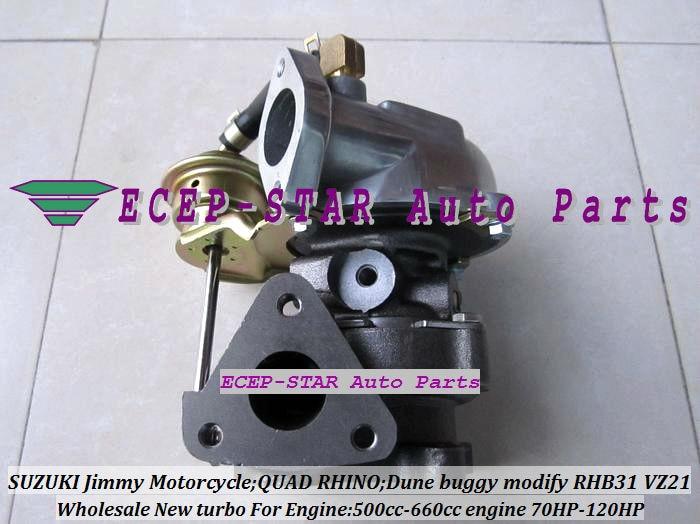 RHB31 VZ21 13900 62D51 VJ110069 Turbo For SUZUKI SWIFT SX4 LIANA Grand Vitara 500 660cc MOTORCYCLE 4TNA YA1 F6AT F6A 70HP 120HP