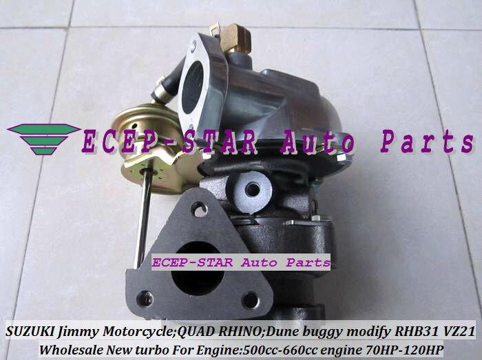 RHB31 VZ21 13900 62D51 VJ110069 turbo для Suzuki Swift SX4 Лиана grand vitara 500 660cc мотоциклетные 4TNA YA1 F6AT F6A 70HP 120HP