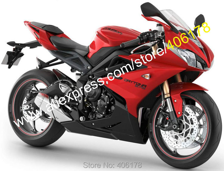 Hot Sales,Daytona 675 2013 2014 2015 For TRIUMPH Fairing Daytona675 13 14 15 Red Black Aftermarket Motorcycle Fairing Parts Sale 14 15 3 2015