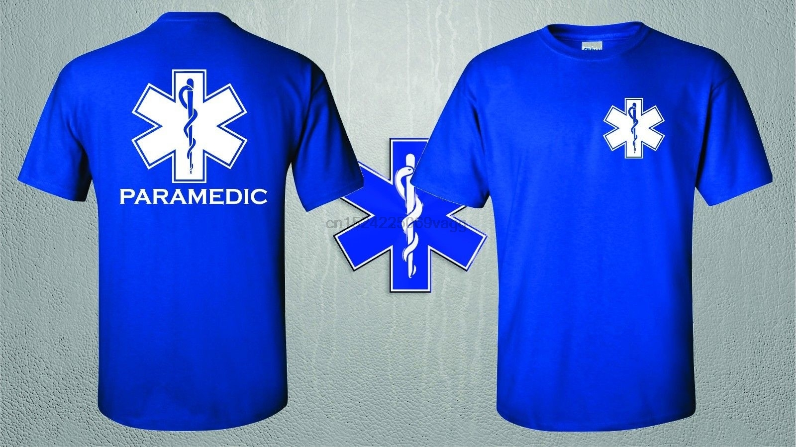 Emergency Medical Services Embroidered Long Sleeve Polo Shirts Men Shirts Loo Show EMS