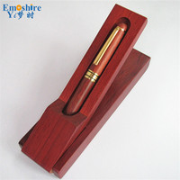 Emoshire New Top Brand Roller Ball Pen Luxury Wood Ballpoint Pen Creative Signature Pen Suit for Business Meeting Gifts P032